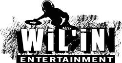 Wil'in Entertainment Disk Jockey Services With Sound Logo